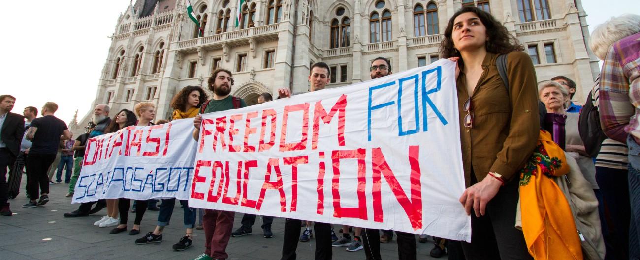 """Ungheria, l'università di Soros a un passo dal lasciare il Budapest: """"Entro il primo dicembre serve accordo con governo Usa"""""""