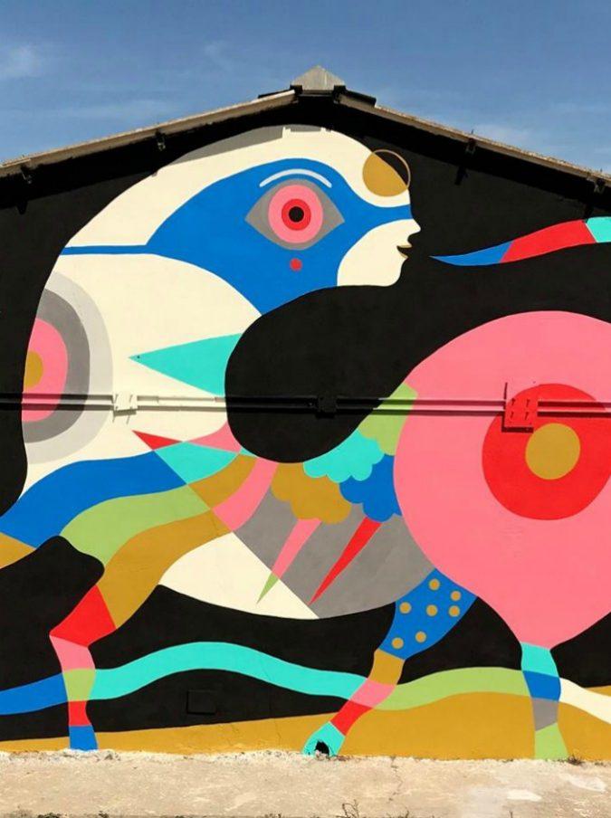 Livorno, macché ronde: contro il degrado lotta a colpi di street art. Festival nazionale al via con la star Giò Pistone