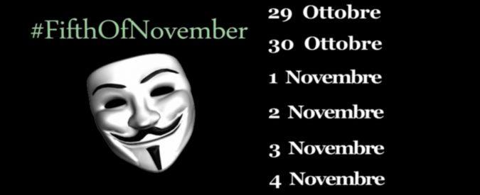 Anonymous ha deluso: la #blackweek è stata più un gavettone che una cyberwar
