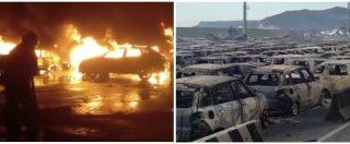 Savona, incendio nel porto: il parcheggio diventa un cimitero di auto. Più di 1000 veicoli (tra cui molte Maserati) distrutte