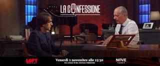 """La Confessione, lo chef Davide Oldani su Nove: """"Il mio sogno? Cucinare per Papa Francesco, personaggio pop e democratico"""""""