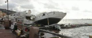 Maltempo Liguria, Rapallo conta i danni: 200 barche distrutte da onde di 10 metri