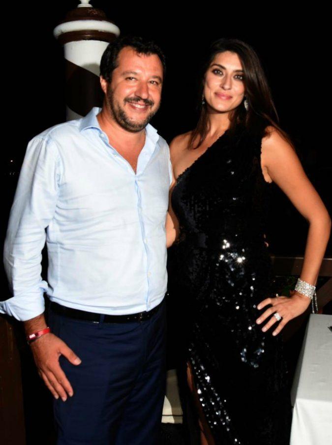 """""""Matteo Salvini e Elisa Isoardi non si sono mai lasciati"""": la rivelazione di Dandolo ai microfoni di Radio 2"""