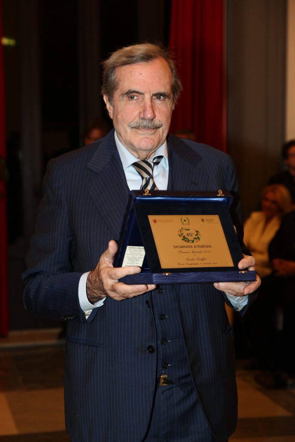 14-12-2010 Roma Premi personalità Europea 2010 alla sala protomoteca del campidoglio (Lapresse)