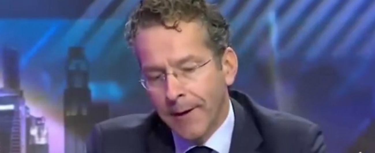 """M5s Europa rilancia l'intervista travisata a Dijsselbloem: """"Invita a un golpe finanziario"""". Pd: """"Movimento di falsari"""""""