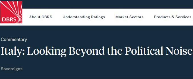 """Manovra, l'agenzia di rating Dbrs: """"Aumento del deficit non preoccupa. Ma è improbabile un impatto forte sul pil"""""""