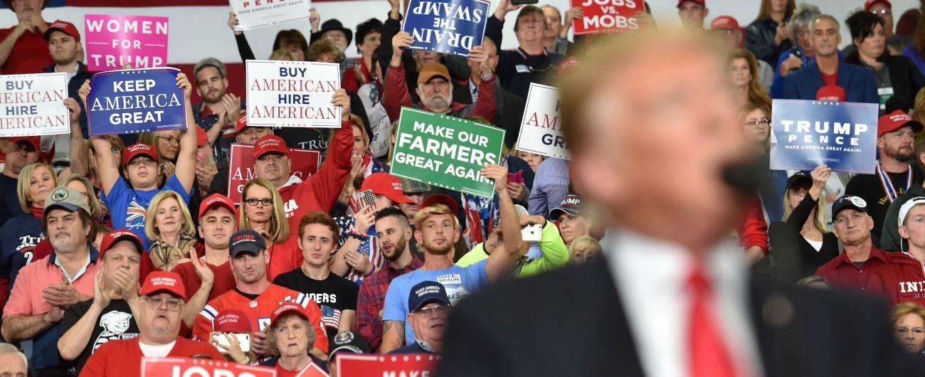 """Midterm 2018, referendum sull'era Trump La sua campagna? Anti-migranti e con poca economia: """"Strategia azzardata"""""""