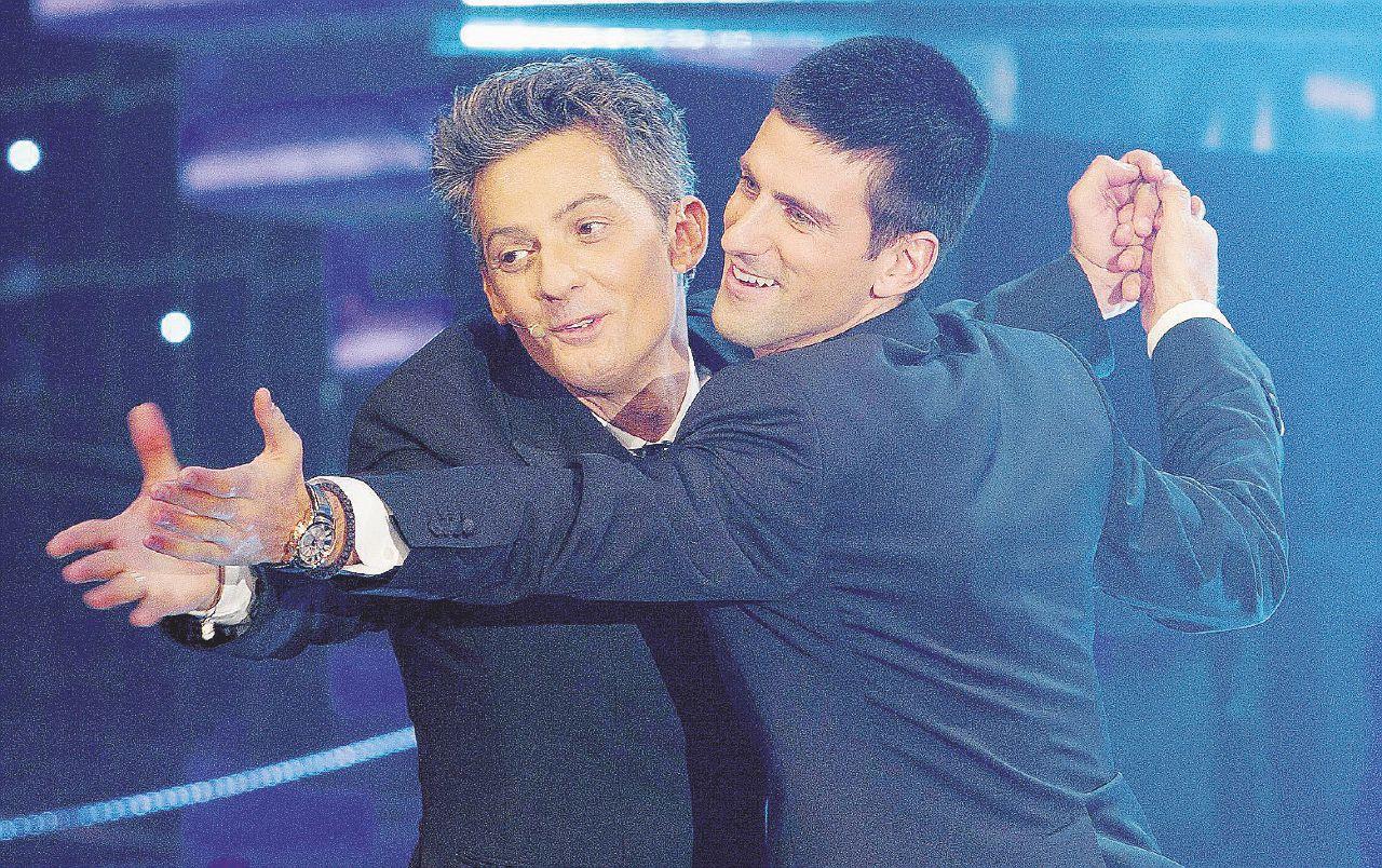 """Djokovic """"il salvato"""" si riscopre ironico e gioca con Fiorello"""