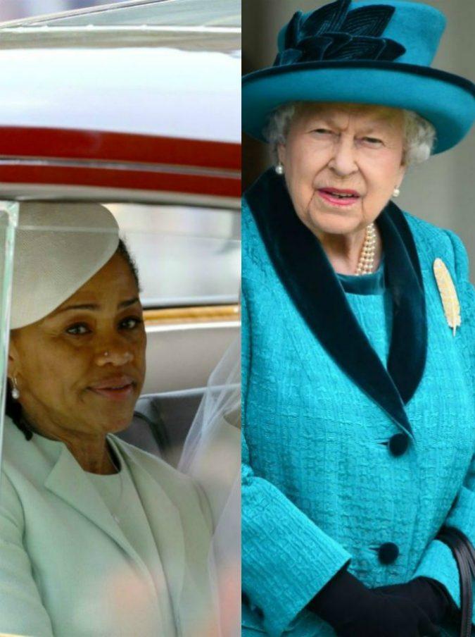 """Meghan Markle, la regina Elisabetta invita la madre Doria per Natale. """"Mai fatto con i genitori di Kate"""""""