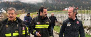 """Maltempo, Salvini contro ambientalisti da salotto: """"Se non tocchi l'alberello e non draghi il fiume la natura presenta il conto"""""""