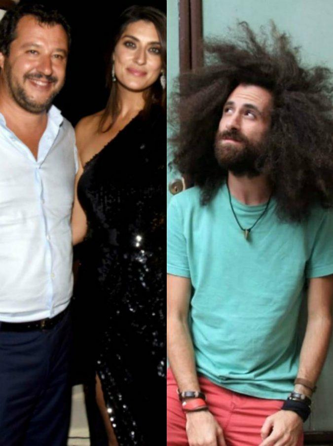 """Elisa Isoardi lascia Matteo Salvini con una frase di Gio Evan. Il poeta in radio commenta: """"Mi stanno ferendo, oggi mi stanno seppellendo"""""""