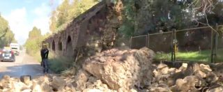 Taranto, crolla un tratto dell'acquedotto del Triglio: è una delle più imponenti opere di ingegneria idraulica in Puglia
