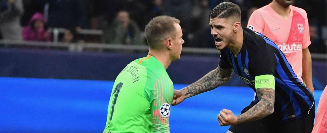 Champions, Napoli e Inter fermano Psg e Barcellona: ma ora devono far punti in Inghilterra per prendersi gli ottavi