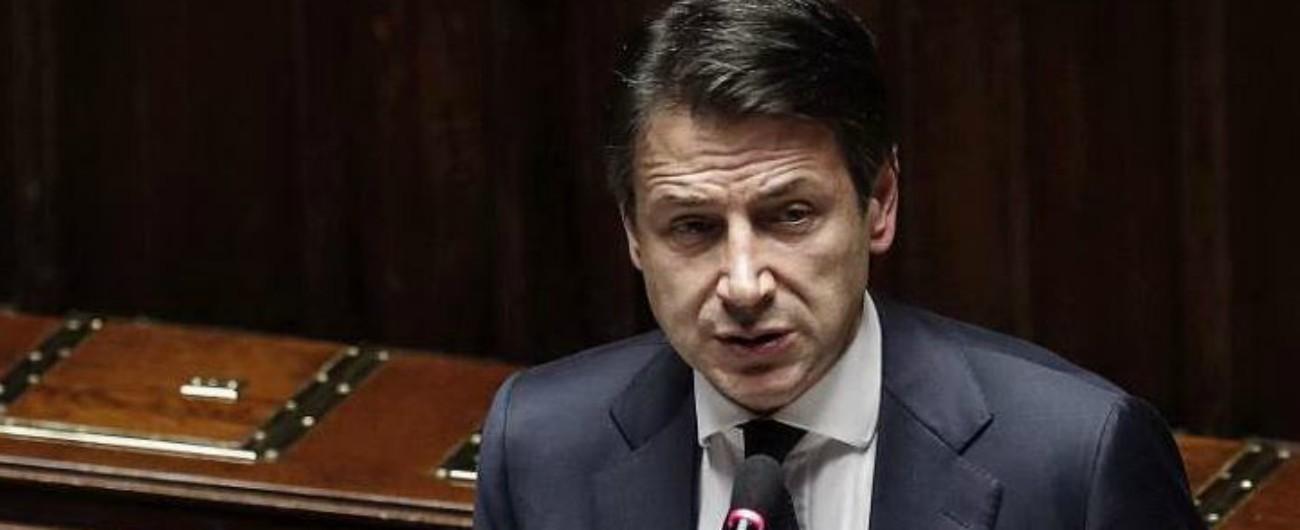 """Manovra, Conte: """"Raccomandazioni Ue sono incompatibili con la crescita"""""""