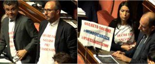 """Decreto Sicurezza, il Pd vota contro ma usa il vocabolario di Salvini: """"Il decreto produrrà più clandestini"""""""