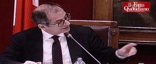 """Siparietto in commissione Bilancio, si spegne il microfono di Tria. Borghi: """"Questa volta non sono stato io"""""""