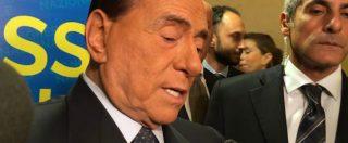 """Governo, Berlusconi: """"Non durerà 5 anni, Lega non tradirà elettori. M5s contro la stampa? Anticamera di dittatura"""""""