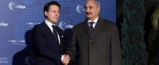 """Libia, è iniziata la conferenza di Palermo Il generale Haftar è arrivato in Sicilia Piano Onu: """"Sicurezza, economia e voto"""""""