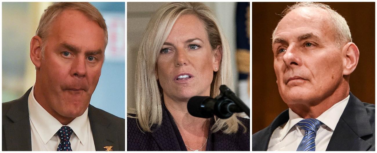 Trump, dopo il midterm via alle purghe Nel mirino ci sono Zinke, Nielsen e Kelly. Aumenta l'influenza del radicale Bolton