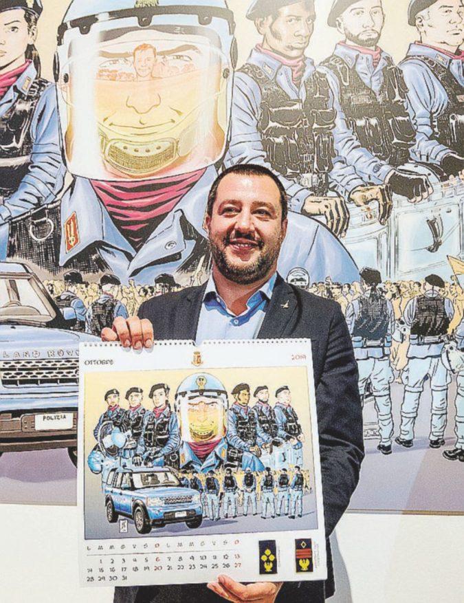 """""""Salvini si può contestare o è uno Stato di polizia?"""""""