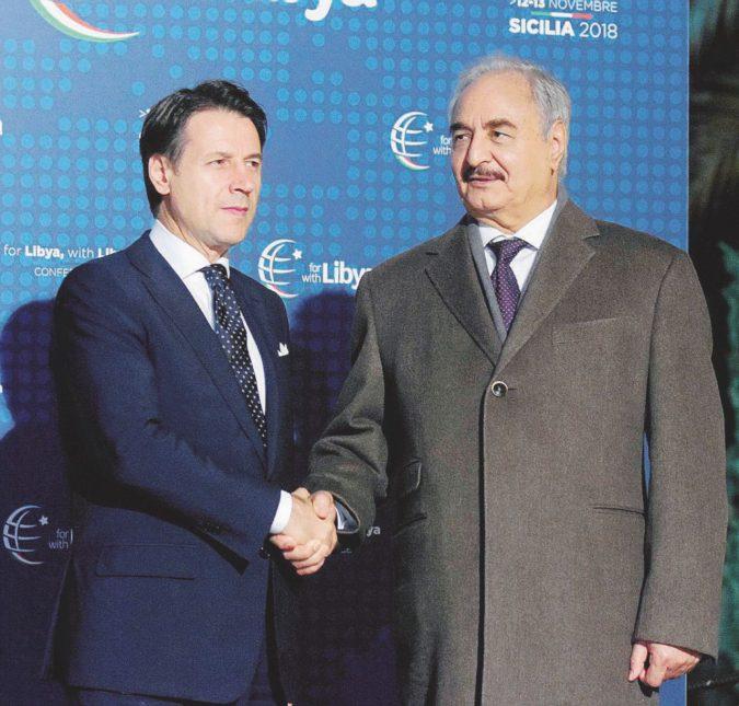 Libia, a Palermo c'è Haftar. Ma l'accordo resta lontano