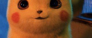 Detective Pikachu, addio falsetto: nel nuovo film live action l'iconico Pokémon giallo ha un vocione alla Gigi Proietti