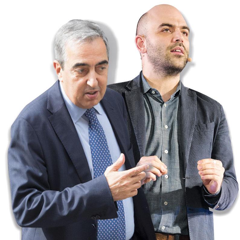 In Edicola sul Fatto Quotidiano del 14 novembre: Gasparri diffamò Saviano: Lega, FI e Pd lo salvano con l'immunità