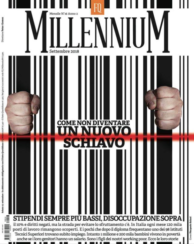 Fq MillenniuM di settembre vince il premio Ferrari copertina
