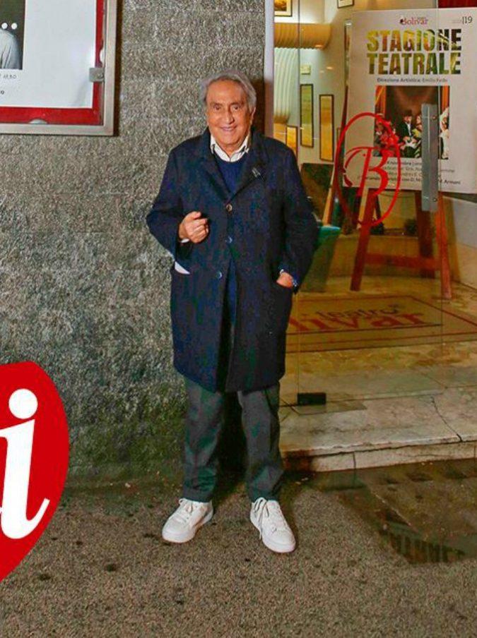 """Emilio Fede ora è direttore del Teatro Bolivar: """"Lavorerò gratis. Il primo ospite che vorrei? Luigi Di Maio"""""""