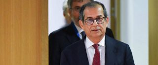 Manovra, Tria: 'Preferibile ridurre deficit'. Ue chiede di portarlo al 2%, Lega e M5s non vogliono scendere sotto il 2,2