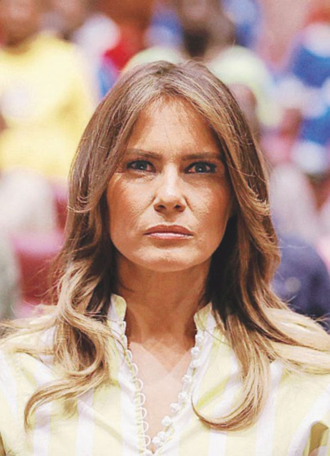 """Sei fuori!"": Melania come Donald in The Apprentice, spietata con chi la intralcia"