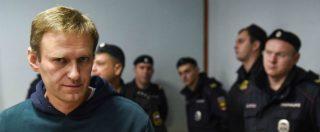 """Alexei Navalny, la Cedu condanna la Russia: """"Arrestato per sopprimere il pluralismo politico"""""""