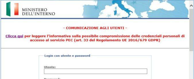 Violate le mail certificate di Ministero Giustizia e Interno, possiamo stare tranquilli? Forse no