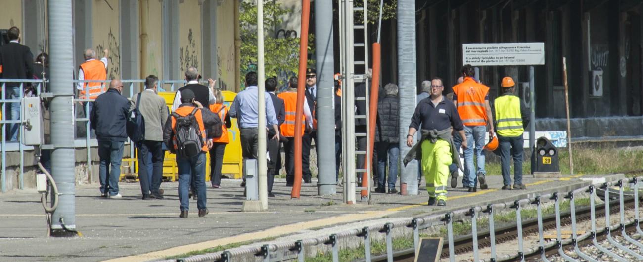 Napoli-Salerno, esplode bombola: feriti 5 operai. Sospesa la circolazione dei treni