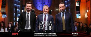 """Accordi&Disaccordi, Di Battista su Nove: """"Non mi candiderò alle elezioni europee"""""""