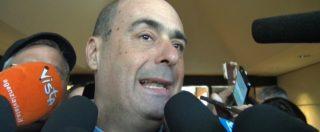 """Assemblea Pd, Zingaretti: """"Tutti a primarie: siano aperte, via 2 euro per votare. Aiutatemi a cambiare questo partito"""""""