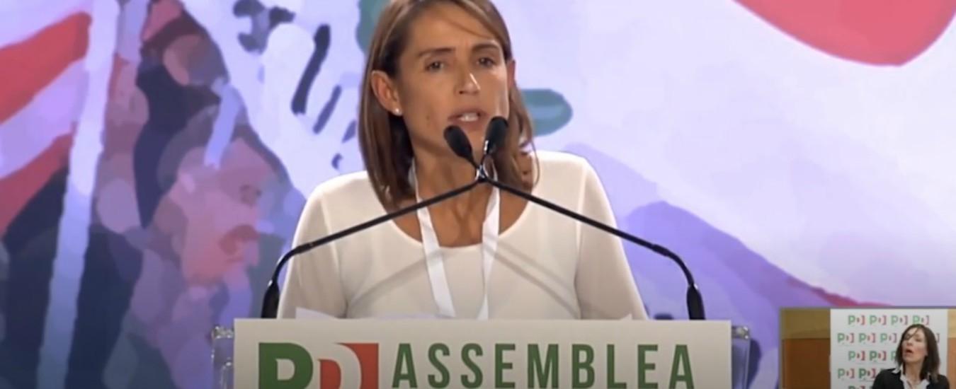 """Assemblea Pd, Katia Tarasconi: """"Applausi solo dai 'delegati di serie B' come me. Noi e i big separati da un cordone"""""""