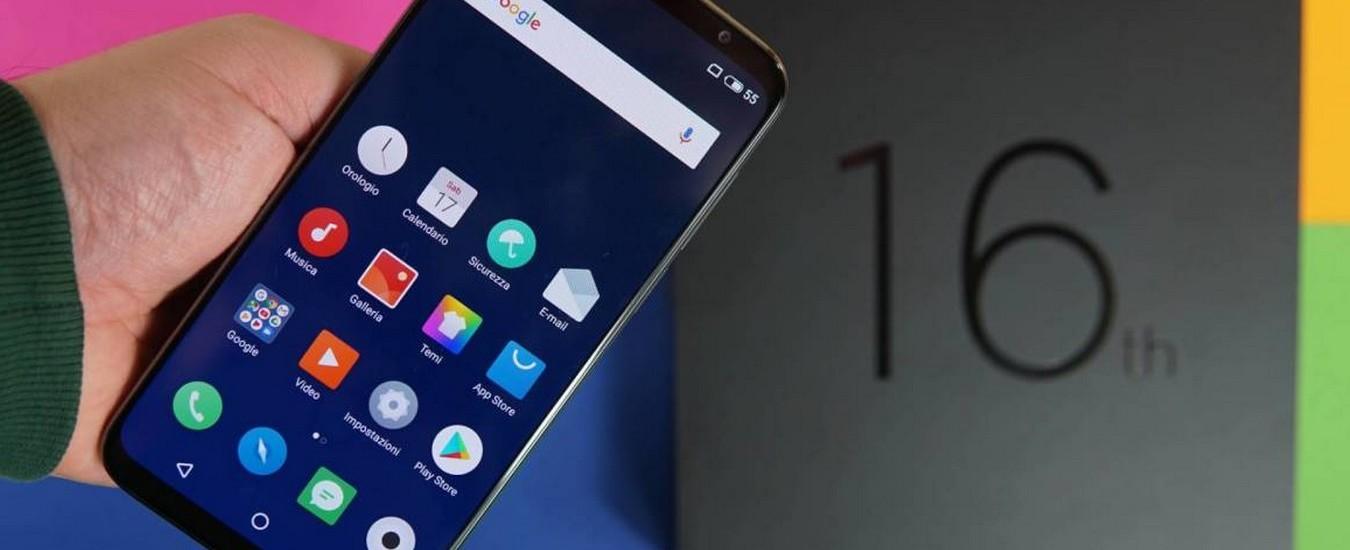 Meizu 16th è lo smartphone di fascia alta dal prezzo contenuto