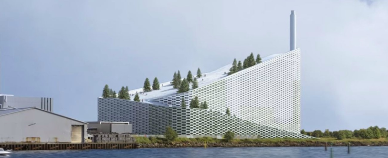 """Inceneritori, quello di Copenaghen non produce solo vapore acqueo. Lo dice la stessa azienda: """"Emissioni al minimo"""""""