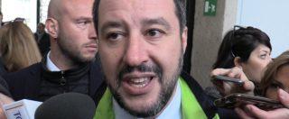 """Lega, Salvini: """"La querela a Bossi per non fare estinguere il processo? Ho troppo a cui pensare. Chiederò agli avvocati"""""""