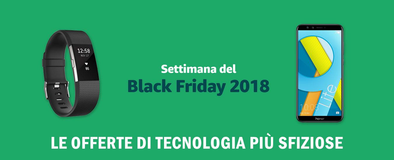 Black Friday 2018, le offerte di tecnologia più sfiziose