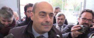 """Pd, Zingaretti: """"Minniti in corsa per la segreteria? Sarà un bel confronto. Voltare pagina, spazio ai giovani"""""""