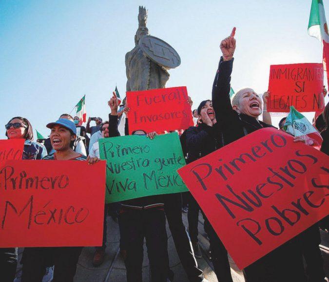 """""""Prima vengono i messicani"""". Guerra tra poveri a Tijuana"""