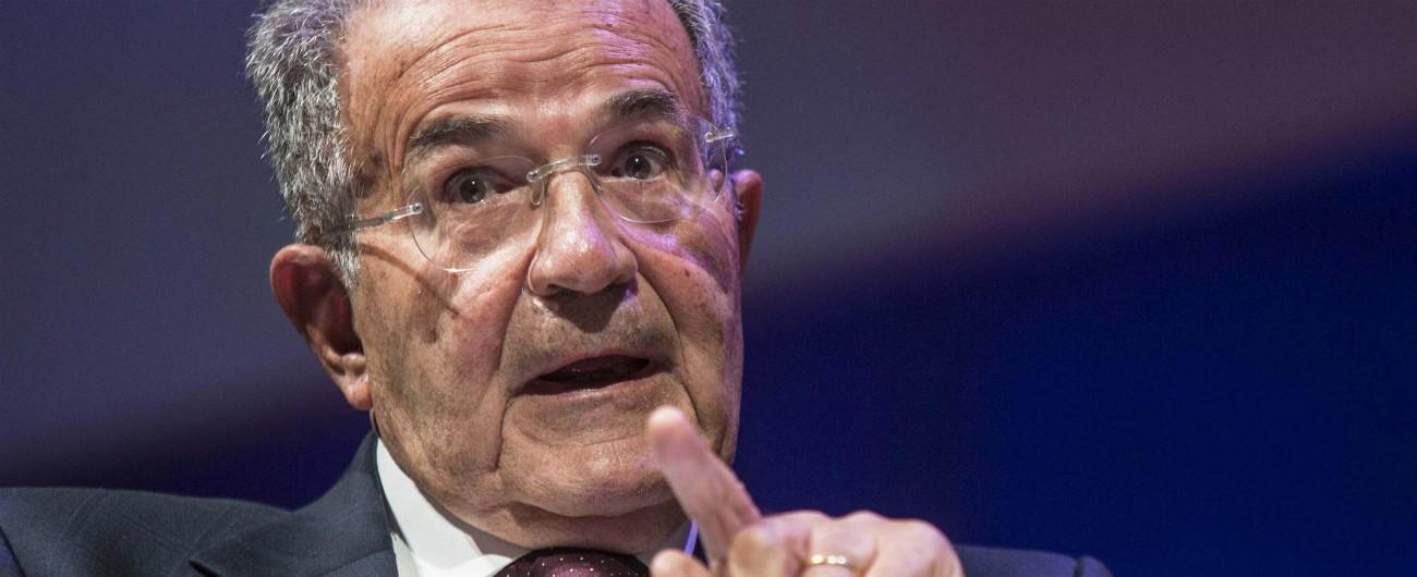 """Pd, Prodi: """"Primarie senza programmi. Se vado a votare? Non ho ancora deciso"""""""