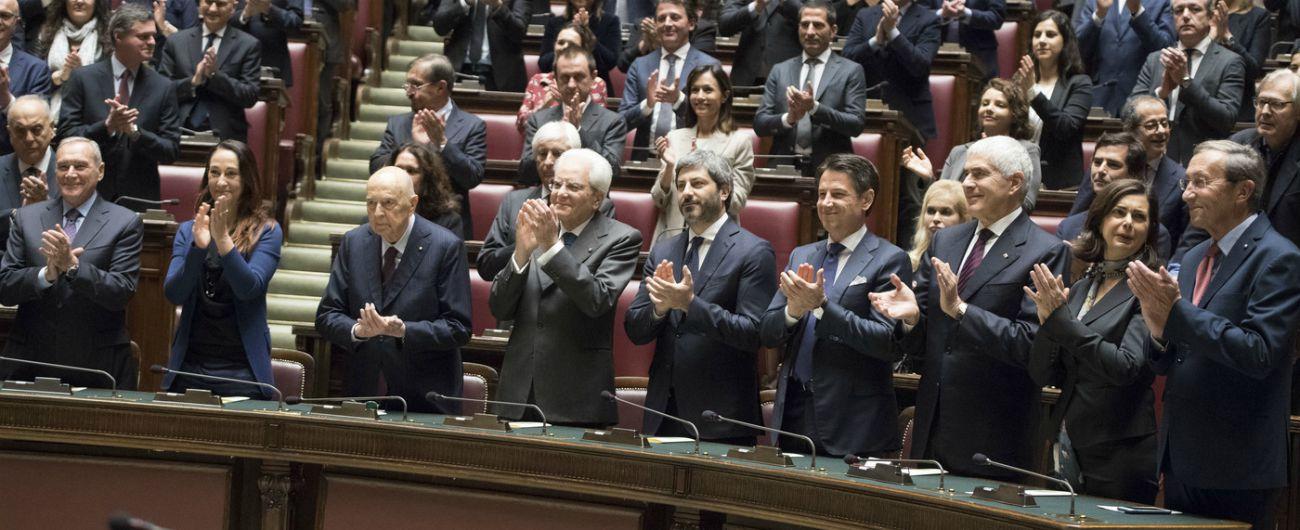 """Camera, celebrazioni dei 100 anni della nuova Aula. Fico: """"Parlamento centrale dà fiducia ai cittadini"""". Polemica di Fdi"""
