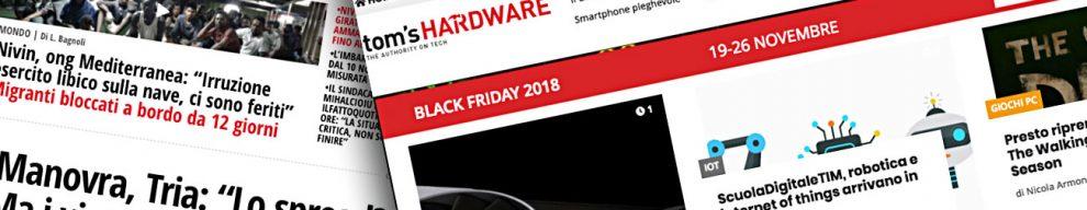 Ilfattoquotidiano.it e Tom's Hardware, debutta la nuova sezione Tecnologia