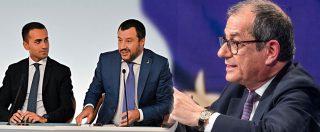"""Minibot della Lega, la bocciatura di Tria. Di Maio e Salvini: """"Ci sono i debiti della Pa da pagare, il Mef trovi una soluzione"""""""