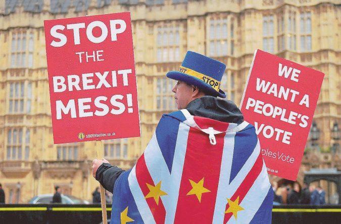 """La fronda ribelle: """"Brexit, questo piano non passerà"""""""