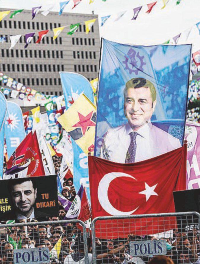 Demirtas, l'ostaggio personale del Sultano
