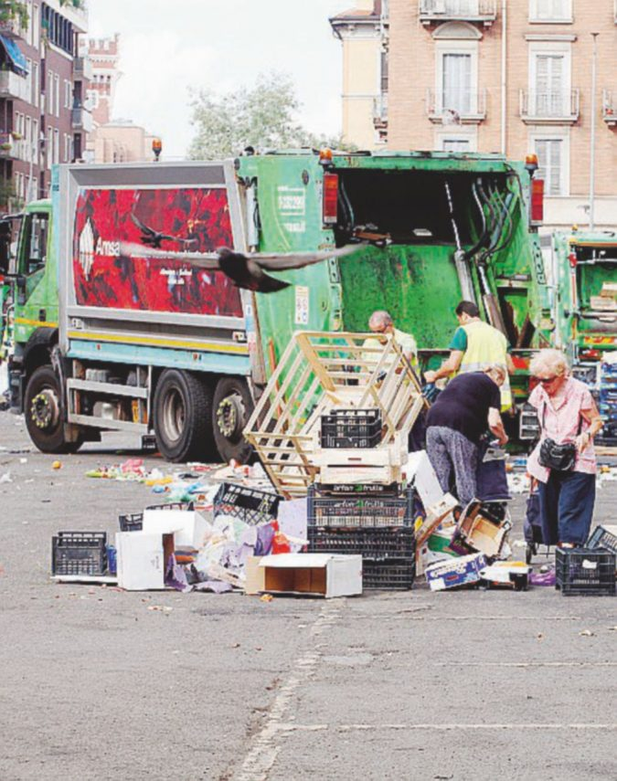 """""""Area sud Milano"""": qui lo smaltimento dei rifiuti è nelle mani di un ex postino"""
